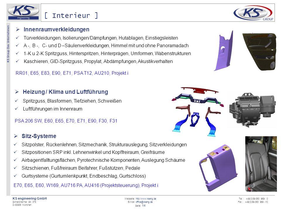 [ Interieur ] Innenraumverkleidungen Heizung / Klima und Luftführung